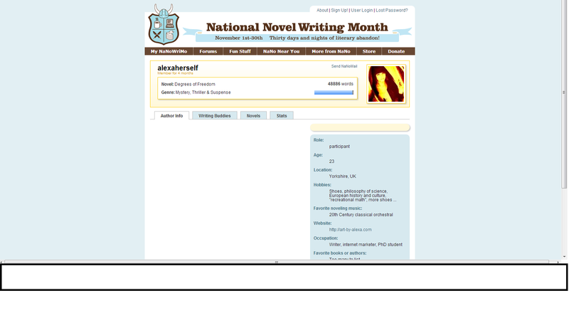 Alexa-herself-national-novel-writing-month